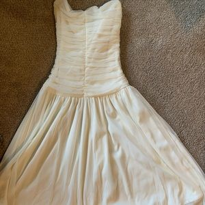 Above the knee formal prom homecoming dress